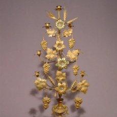 Antigüedades: CANDELABRO DE ALTAR . 96 CM. Lote 91924738