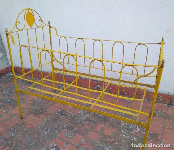 cuna cama de bebe de hierro forjado antigua con - Comprar Camas ...