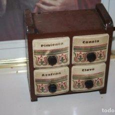 Antigüedades: ANTIGUO ESPECIERO. Lote 91949990