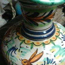 Antigüedades: GRAN JARRA CERAMICA DE TRIANA. Lote 91989082