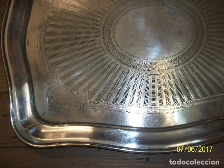 Antigüedades: ANTIGUA BANDEJA MENESES - Foto 3 - 92014705
