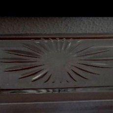Antigüedades: BANDEJITA DE CRISTAL DE PLOMO - TALLADA - REF. 757 . Lote 92040675