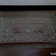 Antigüedades: BANDEJITA DE VIDRIO MOLDEADO. REF. 758. Lote 92041415