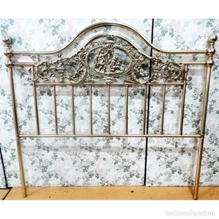 Cabecero dorado metal para cama 140 o 135 comprar camas - Cabeceros de cama antiguos ...
