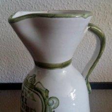Antigüedades: JARRA CERÁMICA TALAVERA - VIVA MI PADRE - REF. 747. Lote 92076545