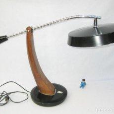 Antigüedades: LAMPARA ANTIGUA VINTAGE 1961 FASE PENDULO MADRID ICONO POP DISEÑO ESPAÑOL . Lote 92087695
