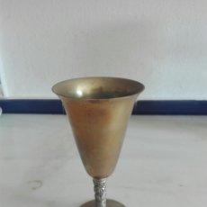 Antigüedades: CALIZ DE METAL. Lote 92088485