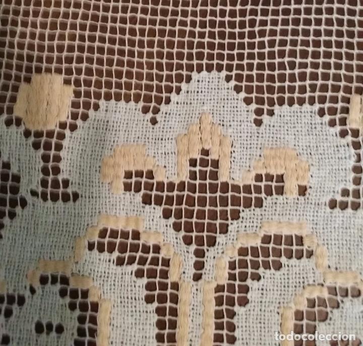Antigüedades: Antiguo mantel - encaje de red - Foto 6 - 92091510