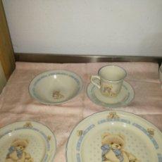 Antigüedades: VAJILLA INFANTIL MARCA MUSGO. Lote 92176753