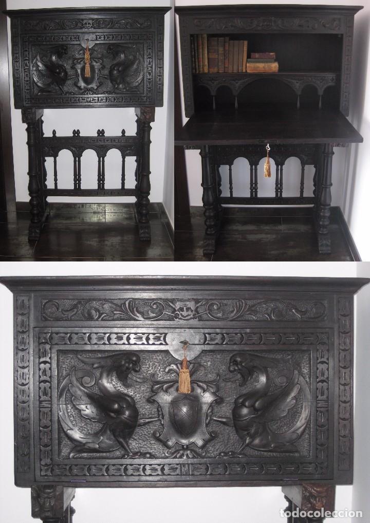 BARGUEÑO CASTELLANO DE FINALES DEL XVIII PRINCIPIOS XIX, (Antigüedades - Muebles Antiguos - Bargueños Antiguos)