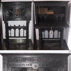 Antigüedades: BARGUEÑO CASTELLANO DE FINALES DEL XVIII PRINCIPIOS XIX,. Lote 92272530
