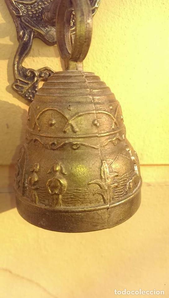Antigüedades: Antigua Campana llamador - Foto 2 - 94838707