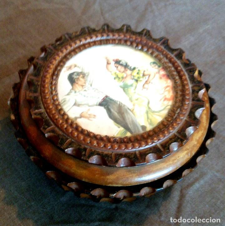 Antigüedades: Caja madera - Foto 2 - 92294970