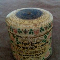 Antigüedades: CAJAS METÁLICAS ANTIGUAS. Lote 92295795