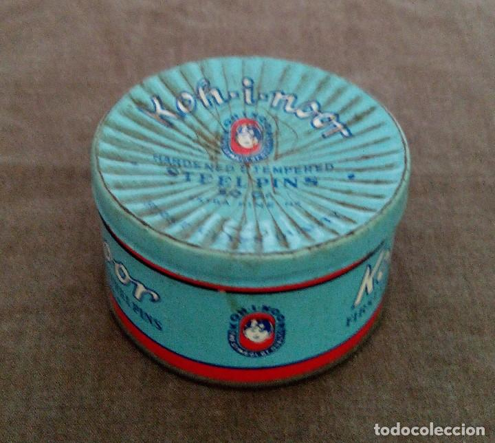 Antigüedades: Cajas metálicas antiguas - Foto 2 - 92295795