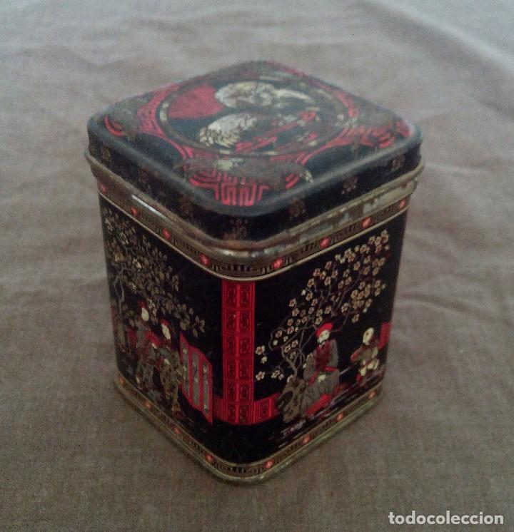 Antigüedades: Cajas metálicas antiguas - Foto 3 - 92295795