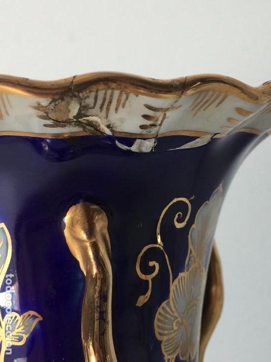 Antigüedades: BONITO JARRÓN EN PORCELANA (PARA RESTAURAR) SIGLO XIX - Foto 2 - 92303660