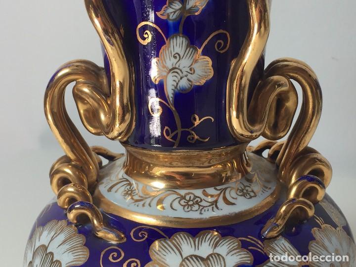 Antigüedades: BONITO JARRÓN EN PORCELANA (PARA RESTAURAR) SIGLO XIX - Foto 8 - 92303660