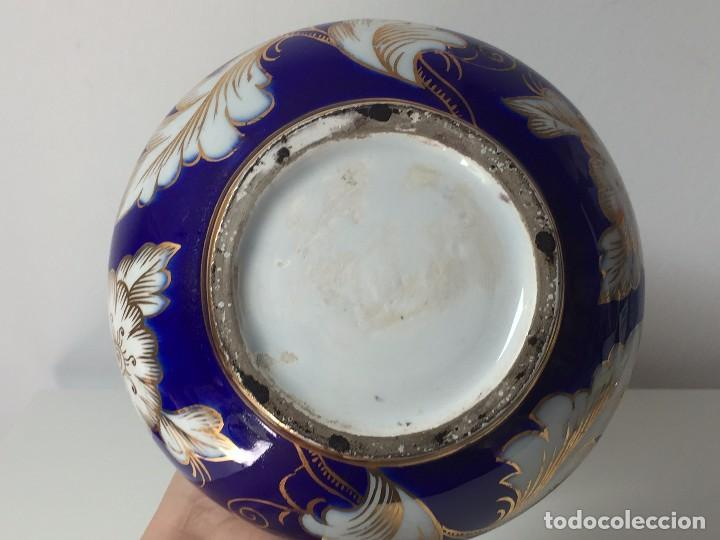 Antigüedades: BONITO JARRÓN EN PORCELANA (PARA RESTAURAR) SIGLO XIX - Foto 9 - 92303660