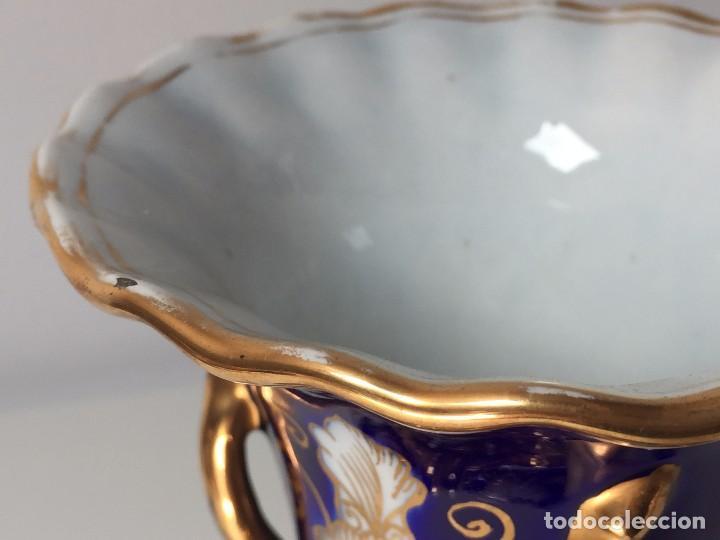 Antigüedades: BONITO JARRÓN EN PORCELANA (PARA RESTAURAR) SIGLO XIX - Foto 11 - 92303660