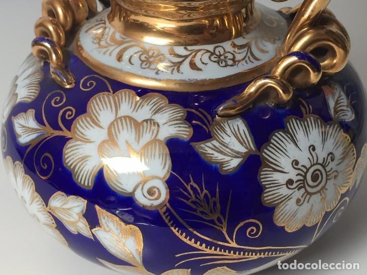 Antigüedades: BONITO JARRÓN EN PORCELANA (PARA RESTAURAR) SIGLO XIX - Foto 15 - 92303660