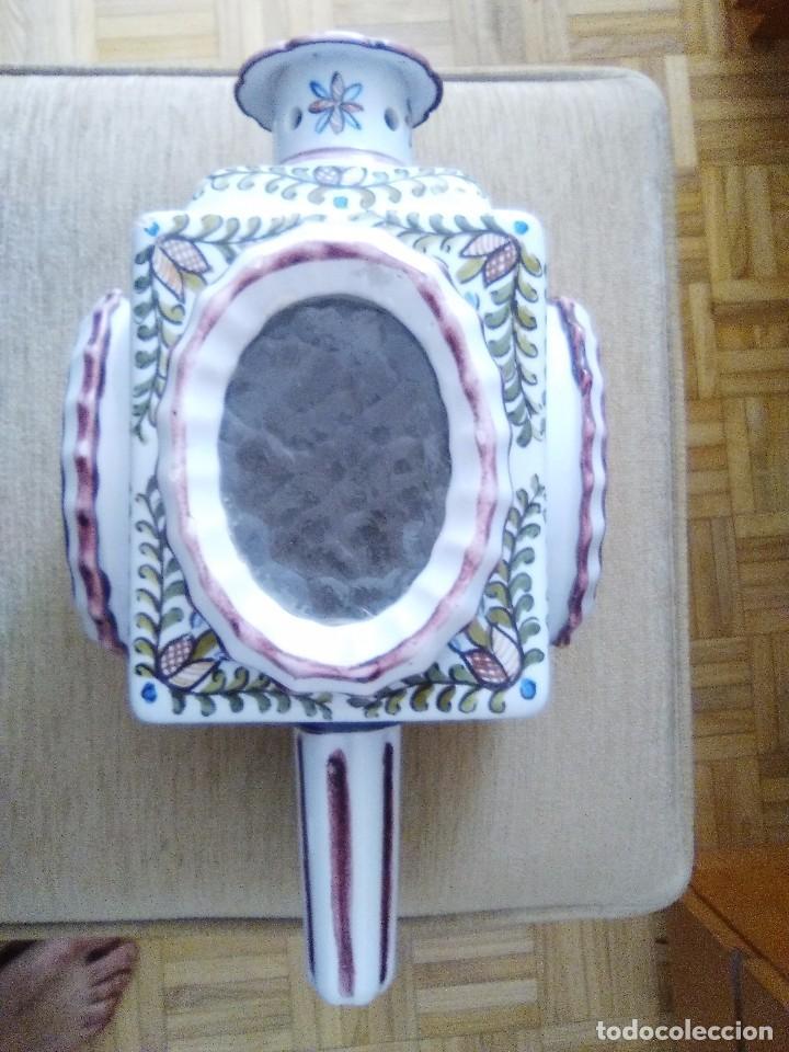 BONITO FAROL O PORTAVELAS ANTIGUO (Antigüedades - Hogar y Decoración - Portavelas Antiguas)