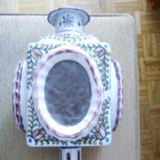 Antigüedades: BONITO FAROL O PORTAVELAS ANTIGUO. Lote 92323435
