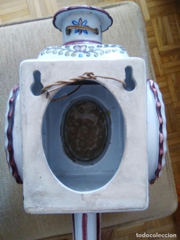 Antigüedades: Bonito farol o portavelas antiguo - Foto 3 - 92323435