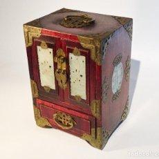 Antiquités: ARMARIO MINIATURA CHINO JOYERO. Lote 92330535