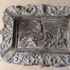 Antigüedades: CENICERO ANTIGUO, DON QUIJOTE DE LA MANCHA.. Lote 92368359