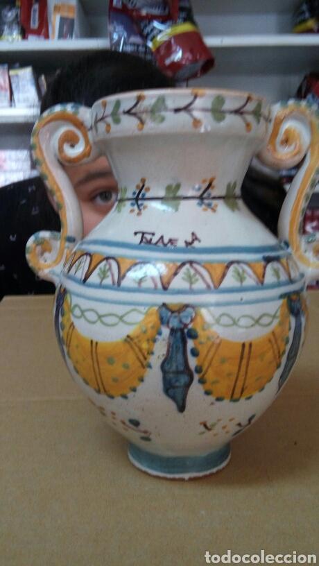 JARRON TALAVERA RUIZ DE LUNA (Antigüedades - Porcelanas y Cerámicas - Talavera)