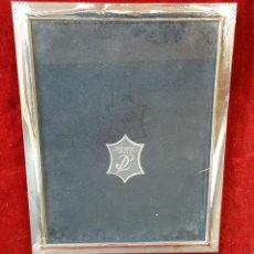 Antigüedades: MARCO PARA FOTOGRAFIAS. RESINA Y PLATA. ISABEL PRESTIGE. CIRCA 1960. . Lote 92712115