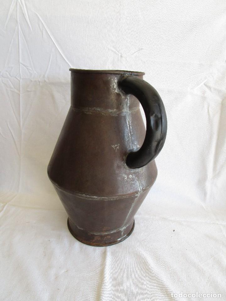 Antigüedades: antiguo recipiente medida blas madonna sant sadurni de noya - Foto 4 - 92720610