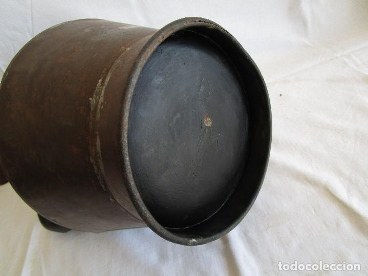 Antigüedades: antiguo recipiente medida blas madonna sant sadurni de noya - Foto 8 - 92720610