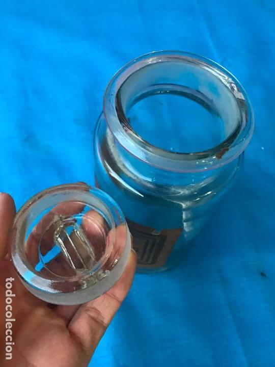 Antigüedades: Frasco de farmacia - Tarro - Foto 3 - 92725955