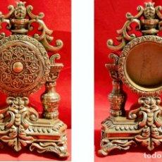 Antigüedades: ANTIGUA RELOJERA DE ESTUCO. Lote 92738280