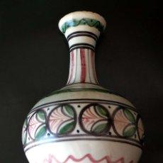 Antigüedades: JARRÓN CERÁMICA TALAVERA 21,5 CM DE ALTO. Lote 92806515