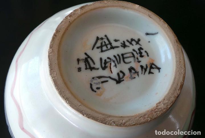 Antigüedades: JARRÓN CERÁMICA TALAVERA 21,5 CM DE ALTO - Foto 6 - 92806515