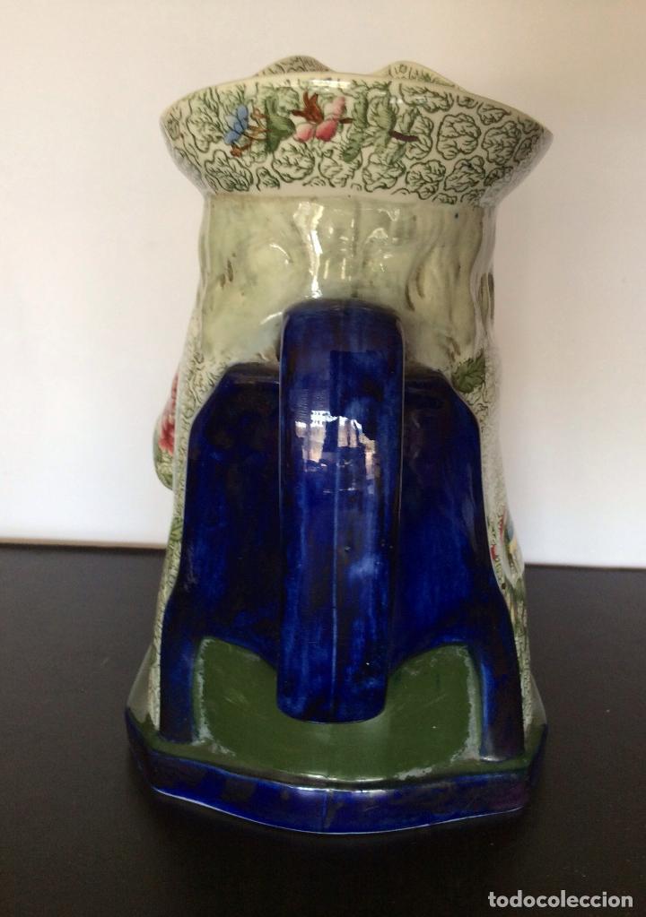 Antigüedades: jarra de cerveza, porcelana inglesa COPELAND sellada y numerada - Foto 7 - 92815575