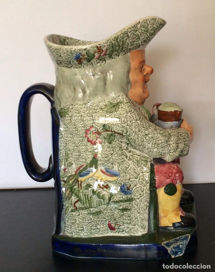 Antigüedades: jarra de cerveza, porcelana inglesa COPELAND sellada y numerada - Foto 10 - 92815575