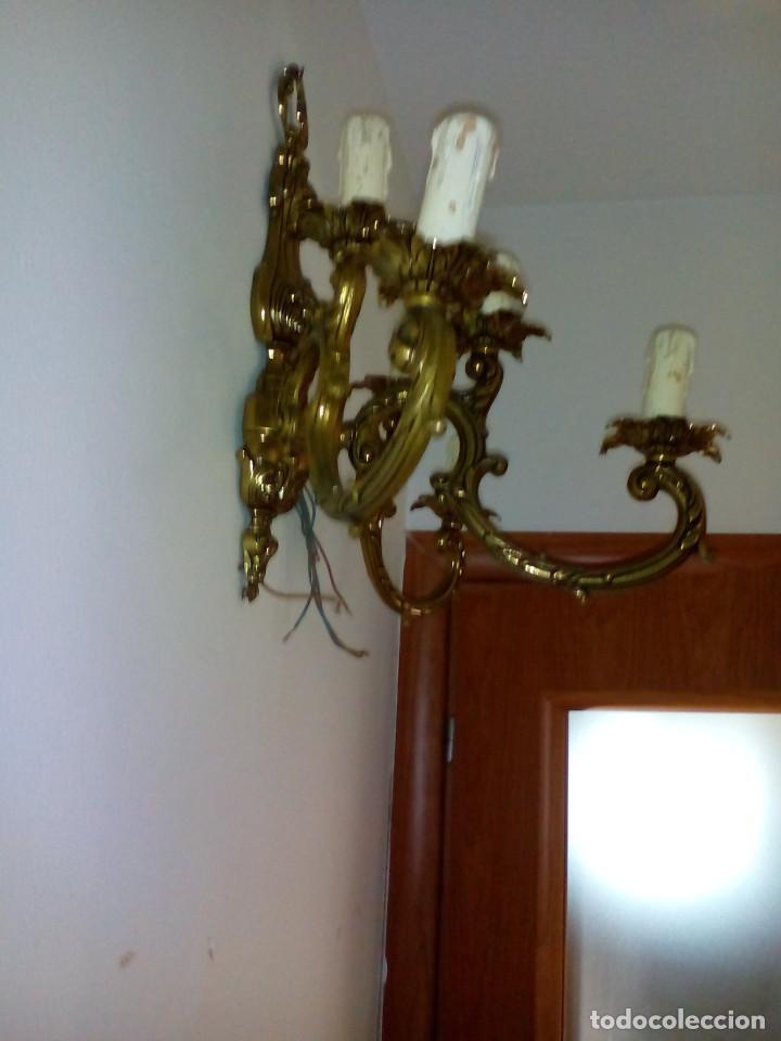 Antigüedades: PAREJA DE APLIQUES - Foto 3 - 92831325