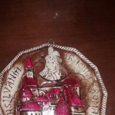 Antigüedades: ANTIGUO RECUERDO DE ROMANIA HECHO EN CERAMICA. Lote 92843860