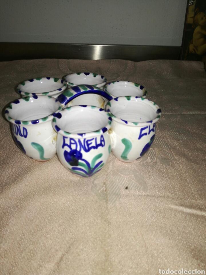 ESPECIERO CERÁMICA FAJALAUZA (Antigüedades - Porcelanas y Cerámicas - Fajalauza)