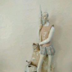 Antigüedades: IMPRESIONANTE QUIJOTE QUIXOTE PORCELANA - POSIBLE TANG PRIMERA EPOCA DE LLADRO. Lote 92868135