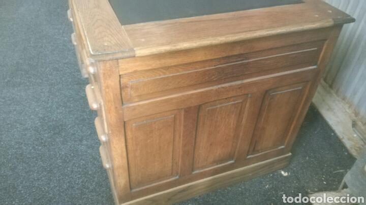 Antigüedades: Mesa de despacho - Foto 2 - 92880079