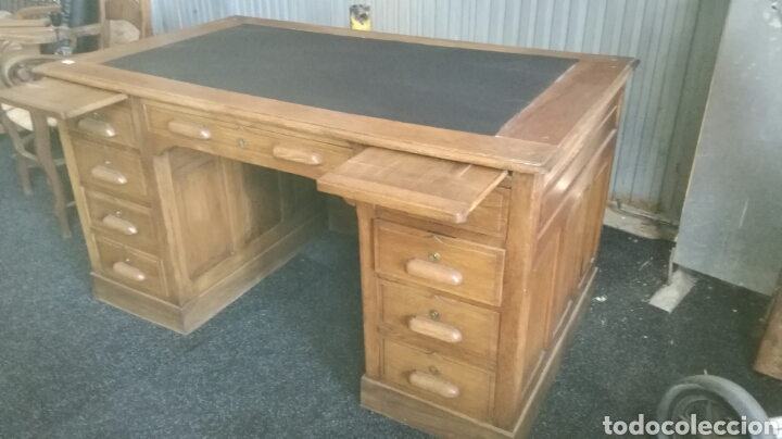 Antigüedades: Mesa de despacho - Foto 4 - 92880079