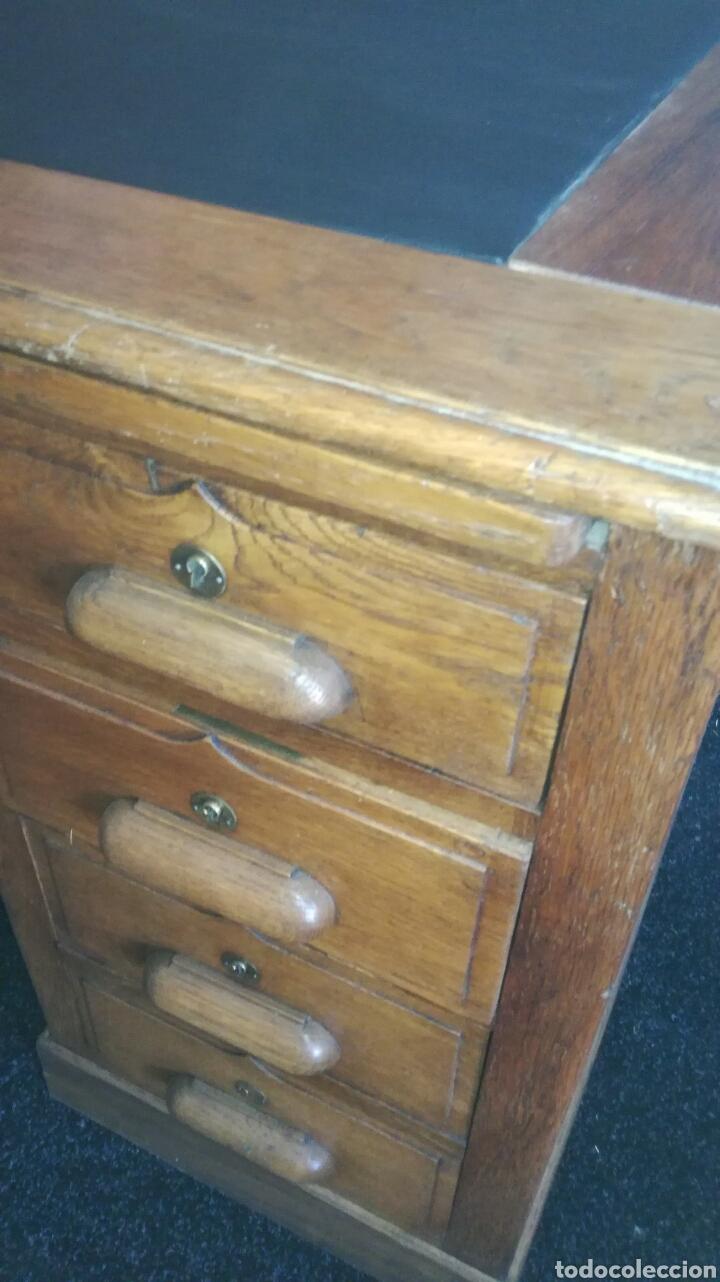 Antigüedades: Mesa de despacho - Foto 5 - 92880079