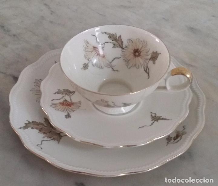 Antigüedades: Trío té en porcelana Bavaria – de colección - Foto 2 - 92887480