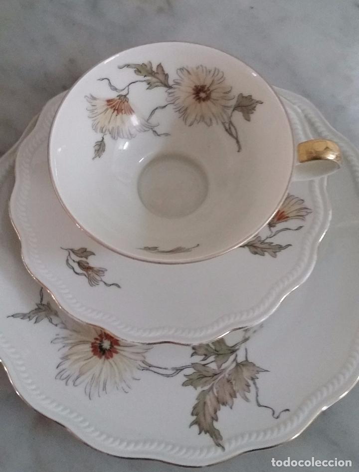 Antigüedades: Trío té en porcelana Bavaria – de colección - Foto 3 - 92887480