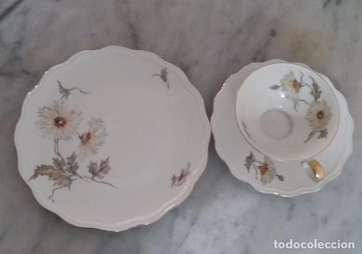 Antigüedades: Trío té en porcelana Bavaria – de colección - Foto 4 - 92887480